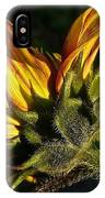 Sunflower Profile IPhone Case