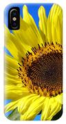 Sunflower Reaching For The Sun IPhone Case