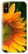Sunflower Single IPhone Case