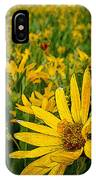 Sunflower Storm IPhone Case
