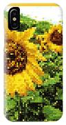 Sunflower Tapestry IPhone Case