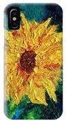 Sunflower - Tribute To Vangogh IPhone Case