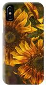 Sunflower Trio IPhone Case