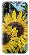 Sunflower Under The Gables IPhone Case