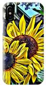 Sunflower Under The Gables Too IPhone Case