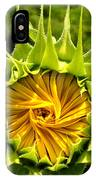 Sunflower Whirl IPhone Case