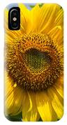 Sunflower With Butterfly IPhone Case