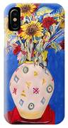 Sunflowers At Home IPhone Case
