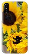 Sunflowers At Market IPhone Case