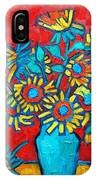 Sunflowers Bouquet IPhone Case