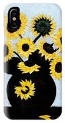 Sunflowers Expressive Brushstrokes IPhone Case