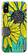 Sunflowers For Fun IPhone Case