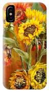 Sunflowers In Sunflower Vase - Square IPhone Case
