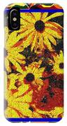 Sunflowers In The Park IPhone X Case