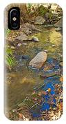 Sunlight On Andreas Creek In Indian Canyons-ca IPhone Case