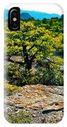 Sunlight On Balanced Rock Trail In Chiricahua National Monument-arizona IPhone Case