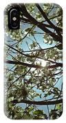 Sunlight Through The Dogwood IPhone Case