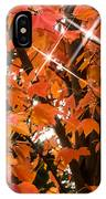 Sunlight Through The Leaves IPhone Case