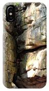 Sunlit Boulder On Shades Mountain IPhone Case