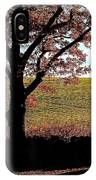 Sunlit Pasture At Moore State Park IPhone Case