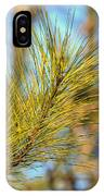 Sunlit Pine Leaders IPhone Case