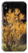 Sunlit Tree In Palo Duro Canyon 110213.06 IPhone Case