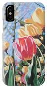 Sunlit Tulips IPhone X Case
