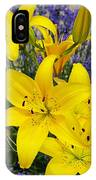 Sunny Asiatics With Lavender IPhone Case