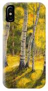 Sunny Birch IPhone Case