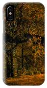 Sunny Fall Afternoon IPhone Case
