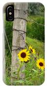 Sunny Fence IPhone Case