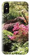 Sunny Japanese Garden IPhone Case
