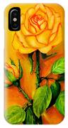 Sunny Rose IPhone Case