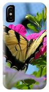 Sunny Tiger Swallowtail  IPhone Case