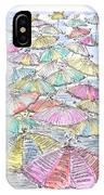 Sunny Umbrelas IPhone Case