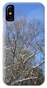 Sunny Winter Sky IPhone X Case