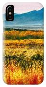 Sunrise In Verde Valley Arizona IPhone Case