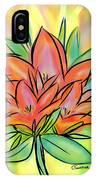 Sunrise Lily IPhone Case