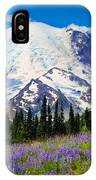Sunrise Lupines IPhone Case
