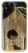 Sunrise On Birdhouse Homestead IPhone Case