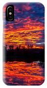Sunrise On The Fishing Hole IPhone Case