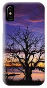 Sunrise Over Coongee Lakes With Moon.  IPhone Case