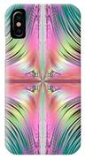 Sunrise Over The Waterfalls Fractal IPhone Case