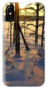 Sunset And Snow IPhone Case