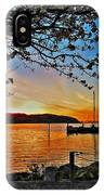 Sunset And Spring Blooms IPhone Case