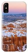 Sunset At Bryce Canyon National Park Utah IPhone Case