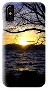 Sunset At Cave Rock IPhone Case
