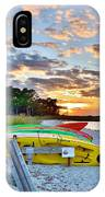 Sunset At James Farm Ocean View Delaware IPhone Case
