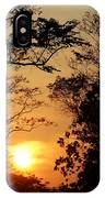 Sunset At Jungle IPhone Case