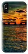 Sunset Bridge IPhone Case